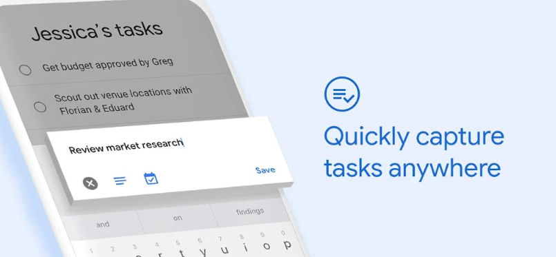 Google task app for creating to do lists