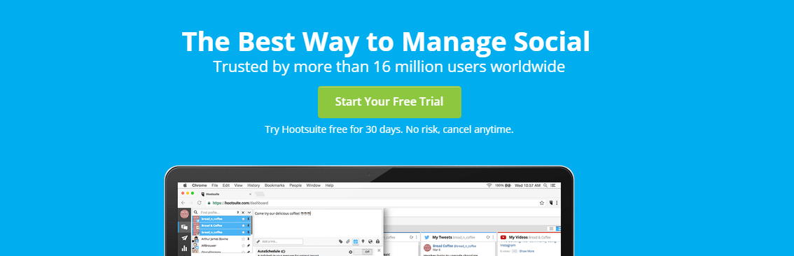 Hootsuite : Growth Hacking Tool