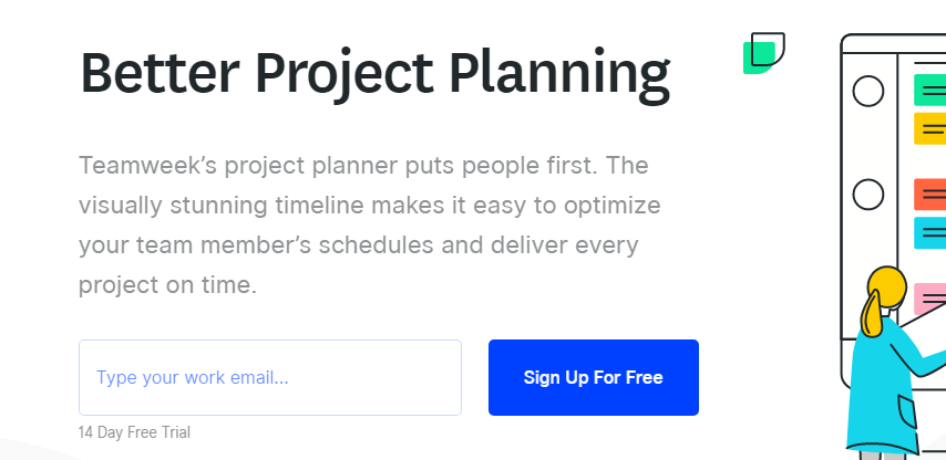 Teamweek: Project planning software