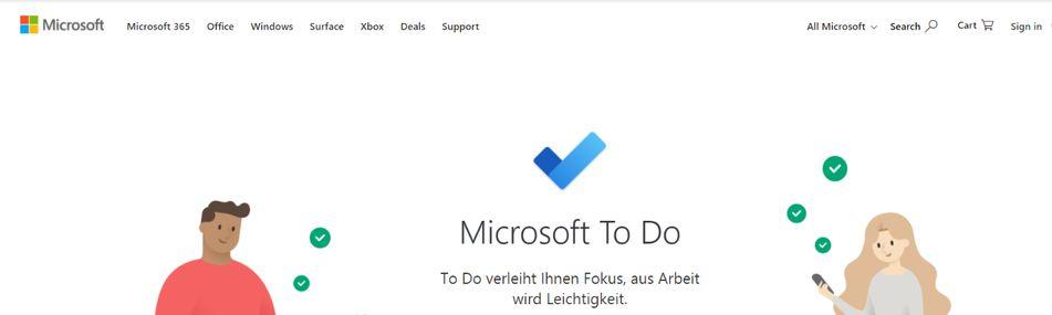 Microsoft to do: To do list app