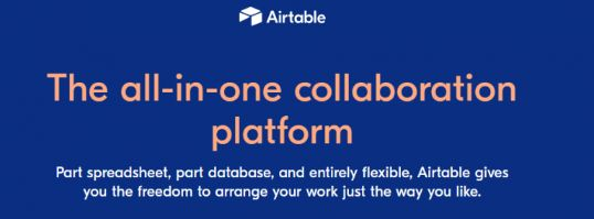 Airtable: Project management software