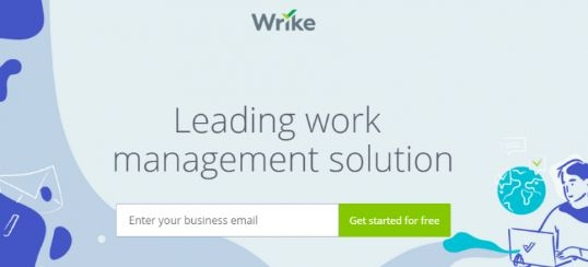 Wrike: Project management software