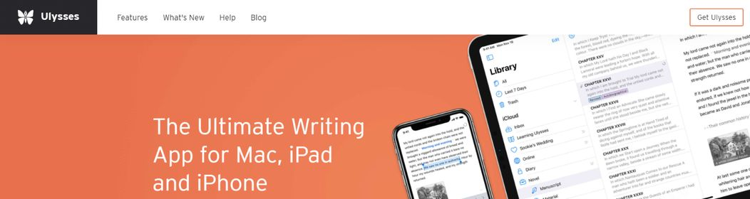 Ulysses: Note taking app