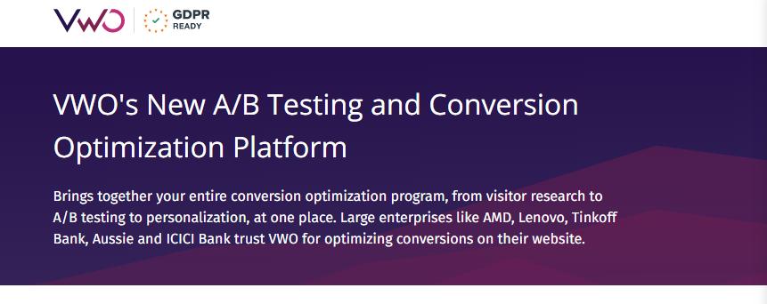 Visual website optimiser : Growth hacking tool