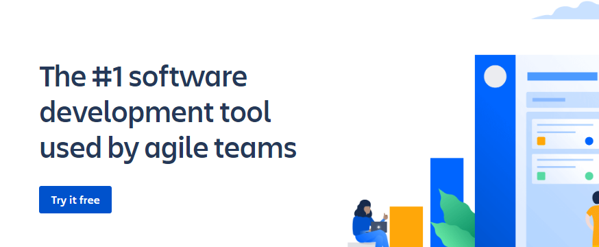 Jira tool for managing and planning company projects