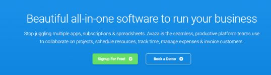 Avaza: Project management software