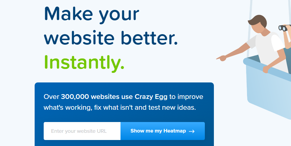 Crazy Egg : Growth Hacking Tool