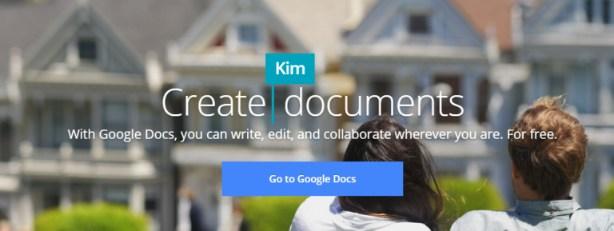 Goohle suites: Online collaboration tool