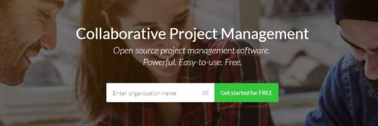 Open project: Project management software
