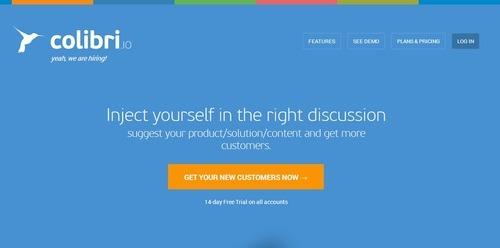 Colibri.io : Growth hacking tools