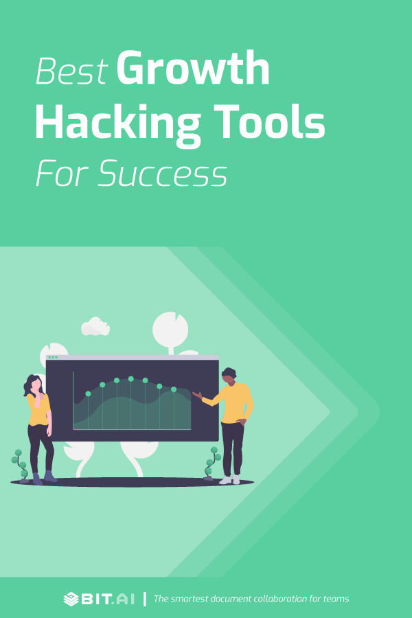 Best growth hacking tools for success - Pinterest image