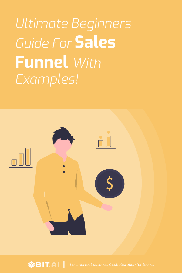 Sales funnel guide for beginners - pinterest image