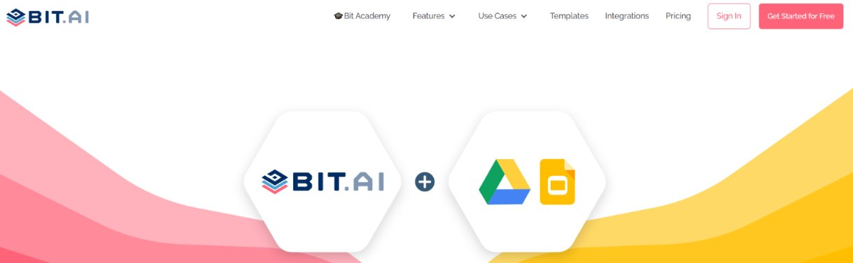 Bit.ai and google slides integration