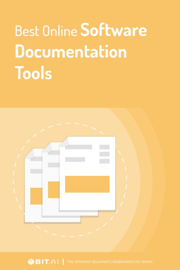 Online software documentation tools - pinterest