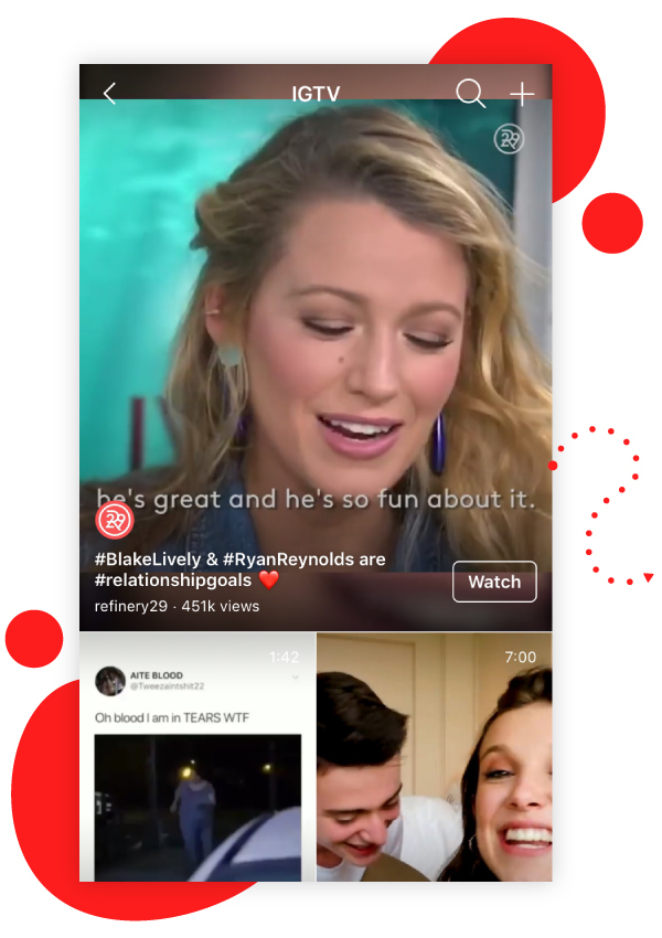 Preview of IGTV