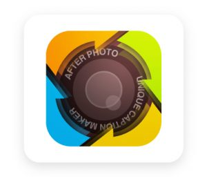 After photo tool for adding text on instagram photos