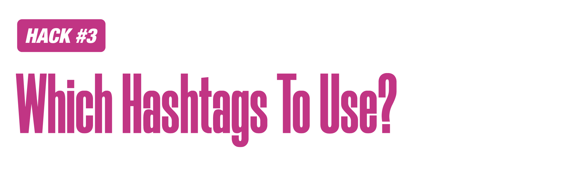 Instagram marketing hashtags relevance
