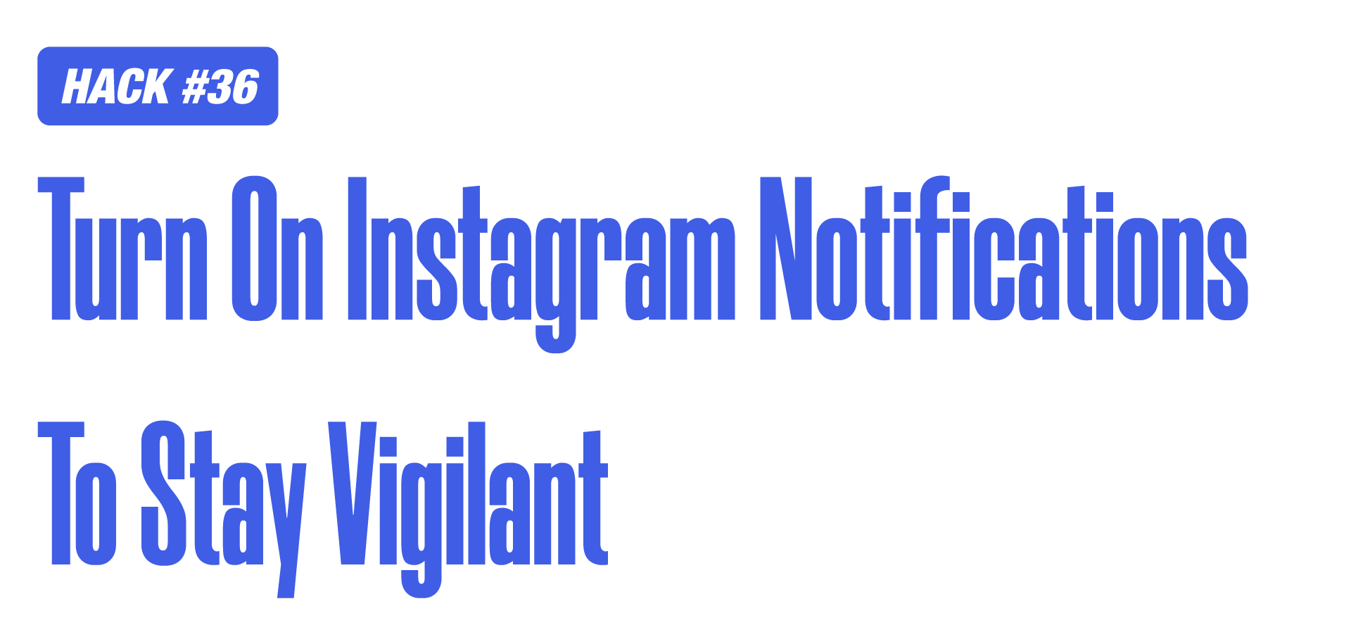 Instagram Marketing Hack of instagram notifications