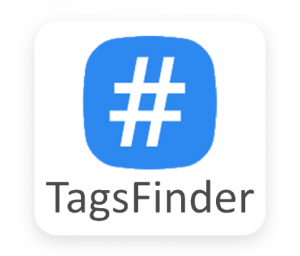 Tagsfinder tool for finding hashtags for Instagram