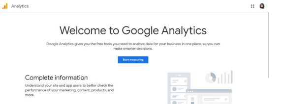 Google analytics - Marketing tool