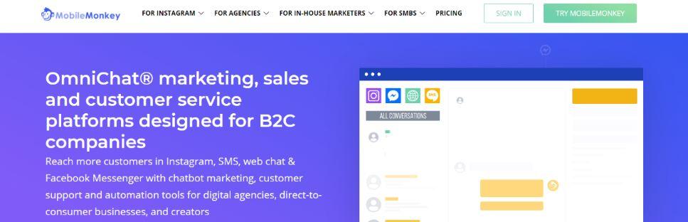 Mobilemonkey: Marketing tool