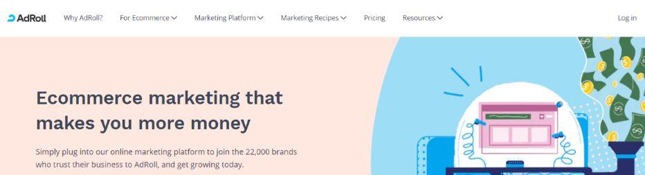 Adroll: Marketing tool