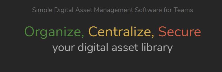 Daminion: Digital asset management software