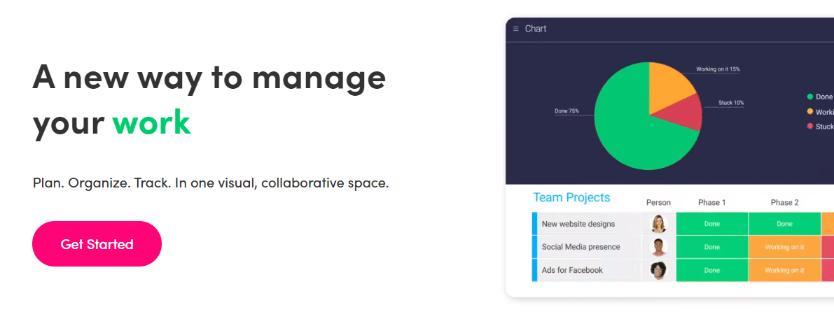 Monday: Workflow management software