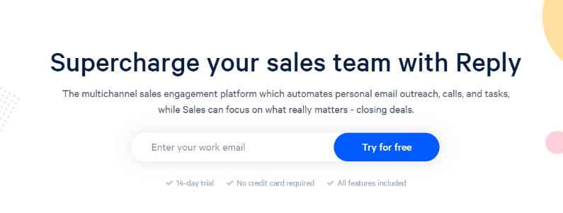 Reply.io: Email tracking software