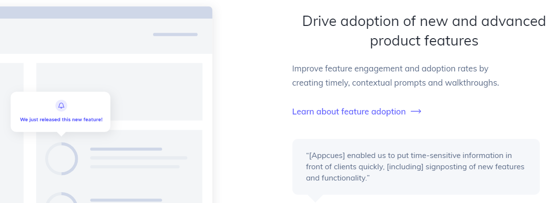 Appcues : Customer Onboarding Software