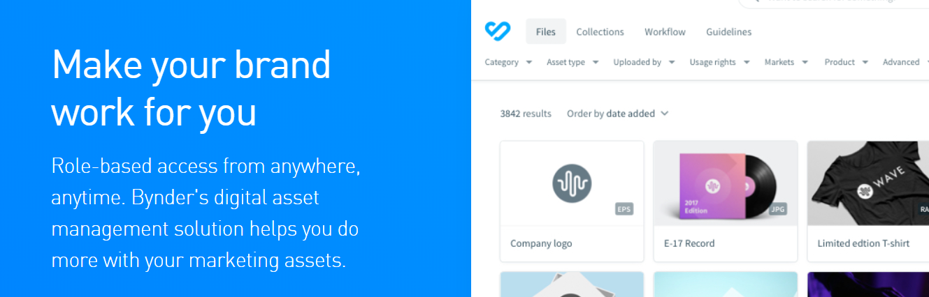 Bynder : Digital Asset Management Software