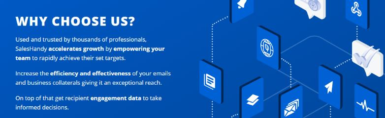 Saleshandy: Email tracking software