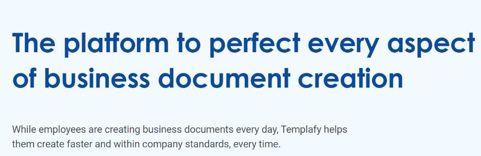 Templafy: Digital asset management software