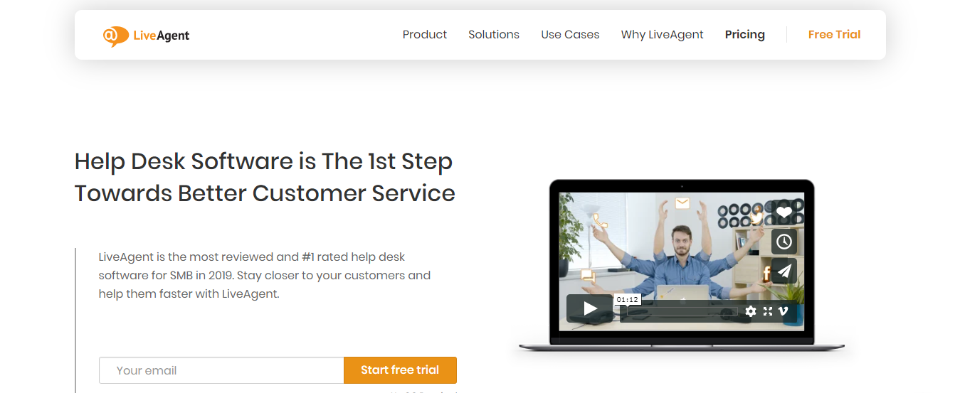 LiveAgent : Customer service software