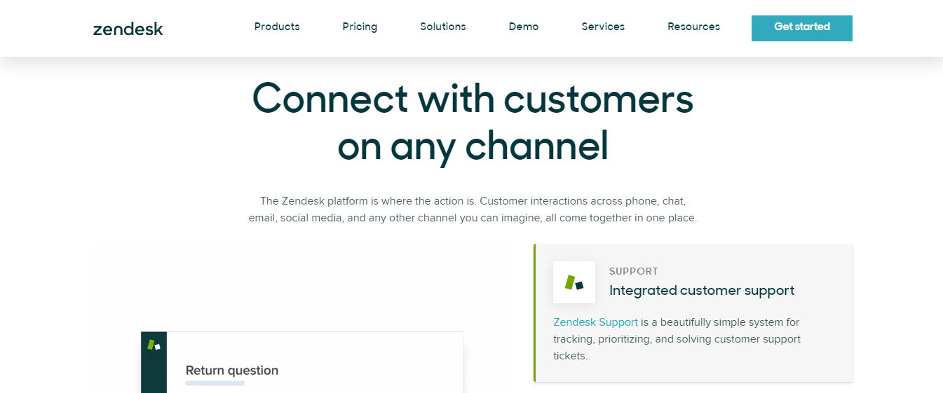 Zendesk : Customer service software for small businesses