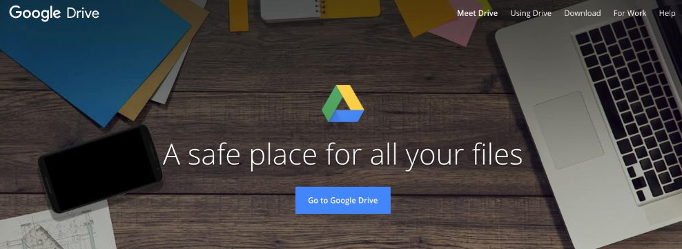 Google drive: Communication through document management tool