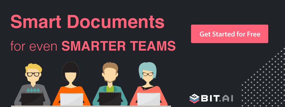 Smarter docs for smarter teams banner