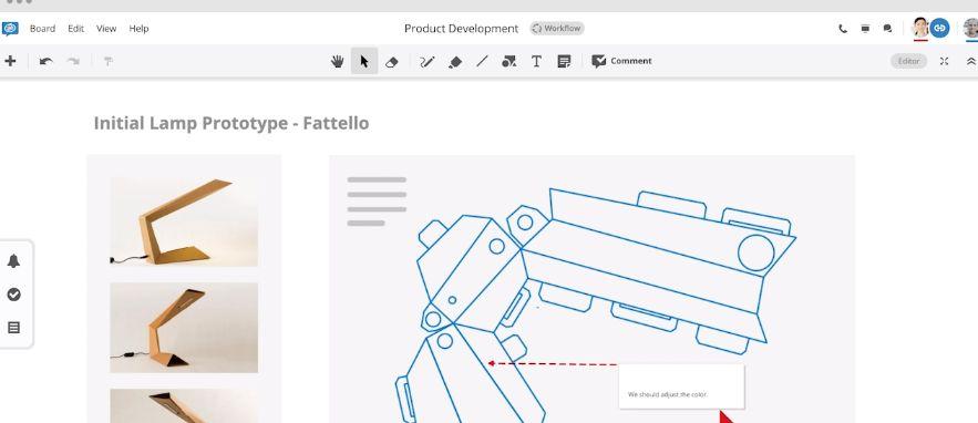 Conceptboard: Digital whiteboard tool