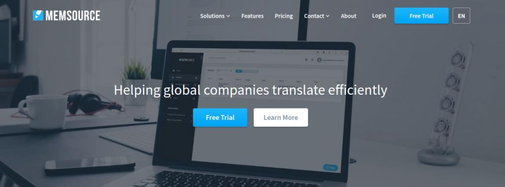 Memsource translator as an alternative to google translator