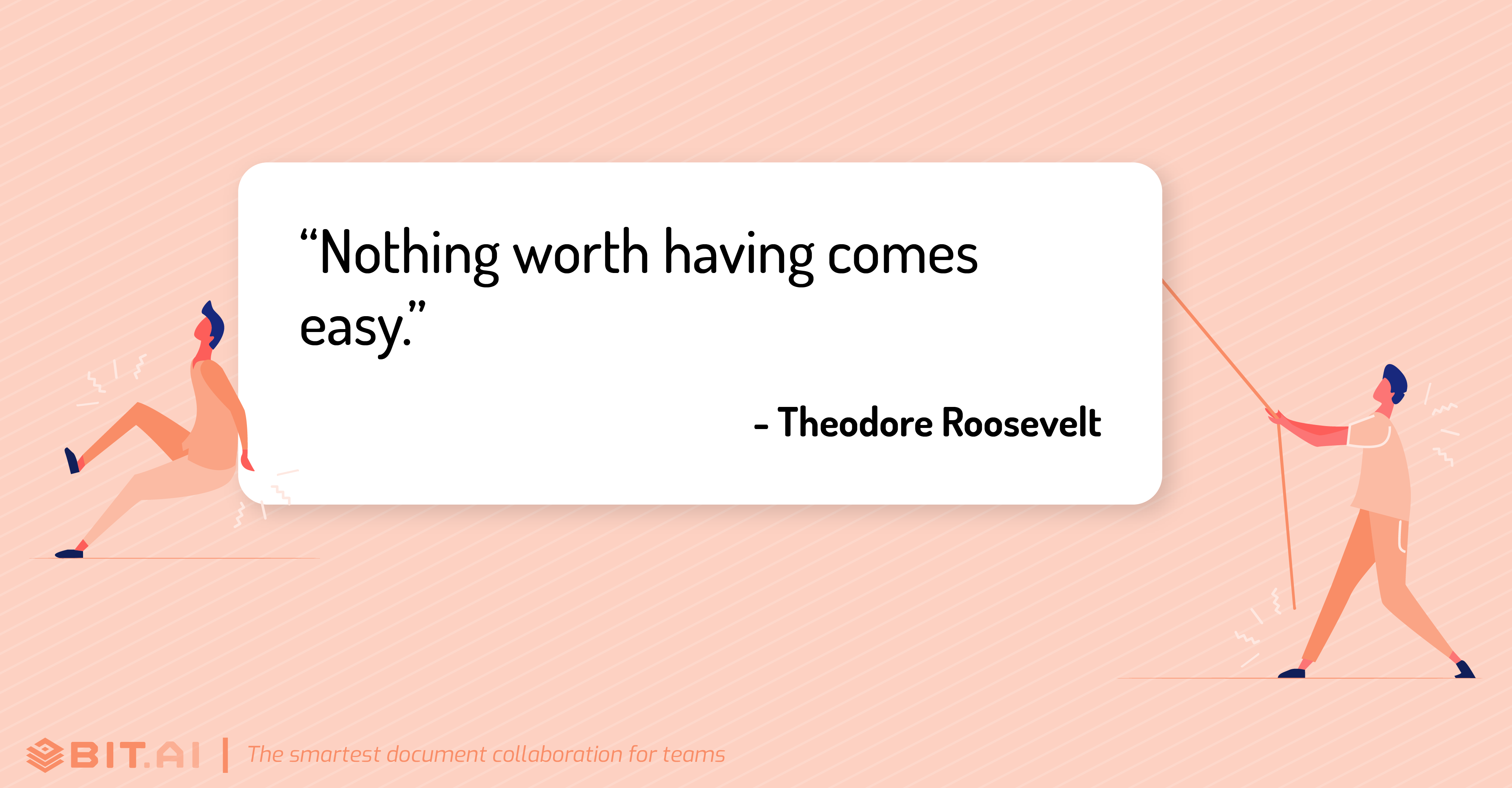 Hard work quote by Theodore Roosevelt