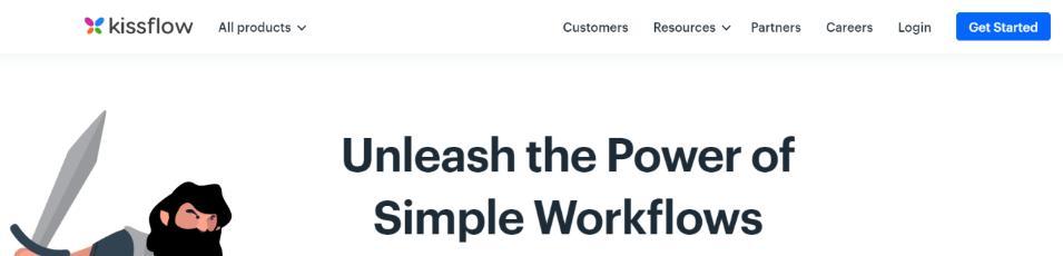 Kissflow: Business Process Management (BPM) Tool