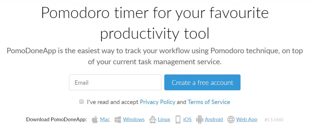 Pomodoro: Productivity app