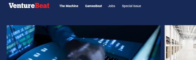 Venture beat: A tech website