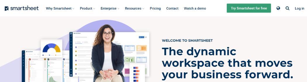 Smartsheet: Business Process Management (BPM) Tool