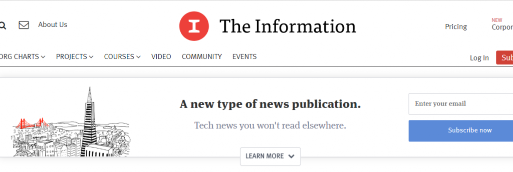 The Information : A tech website