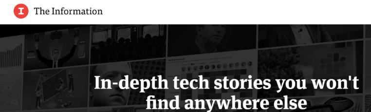 The Information: A tech website
