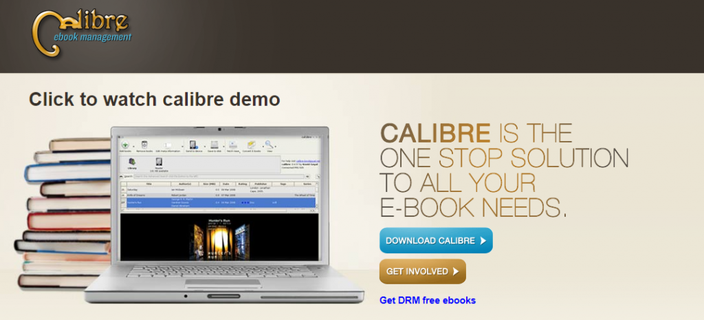 Calibre: Ebook Creator tool