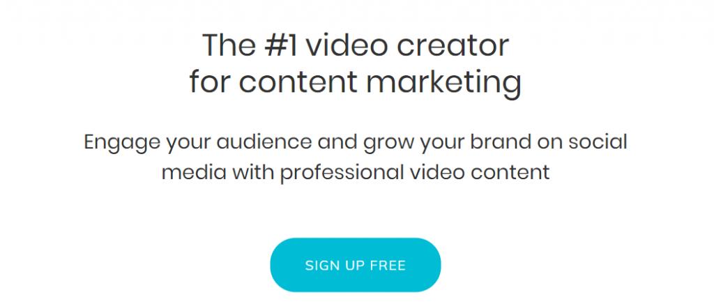 Lumen5: Content creator tool
