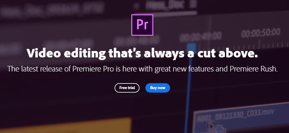 Adobe primiere pro: Content Creation Tool