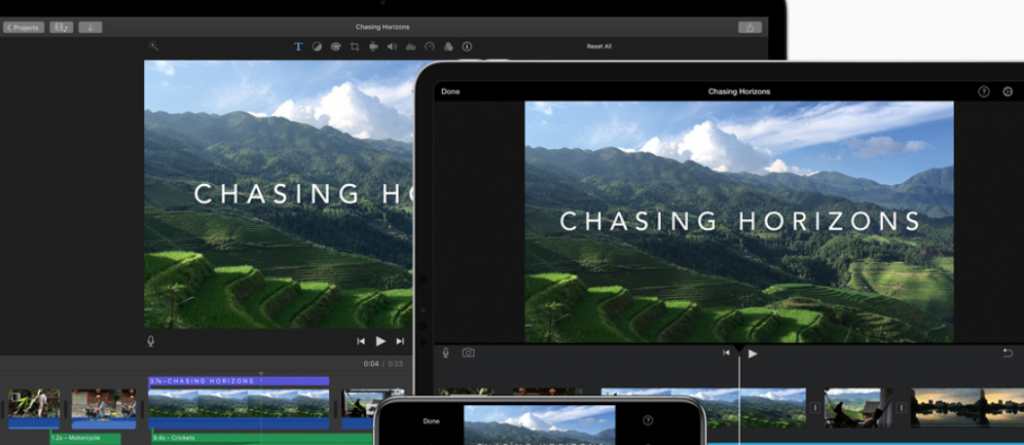 Apple iMovie: Content creator tool